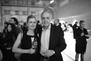 Gianni Mercurio con la moglie