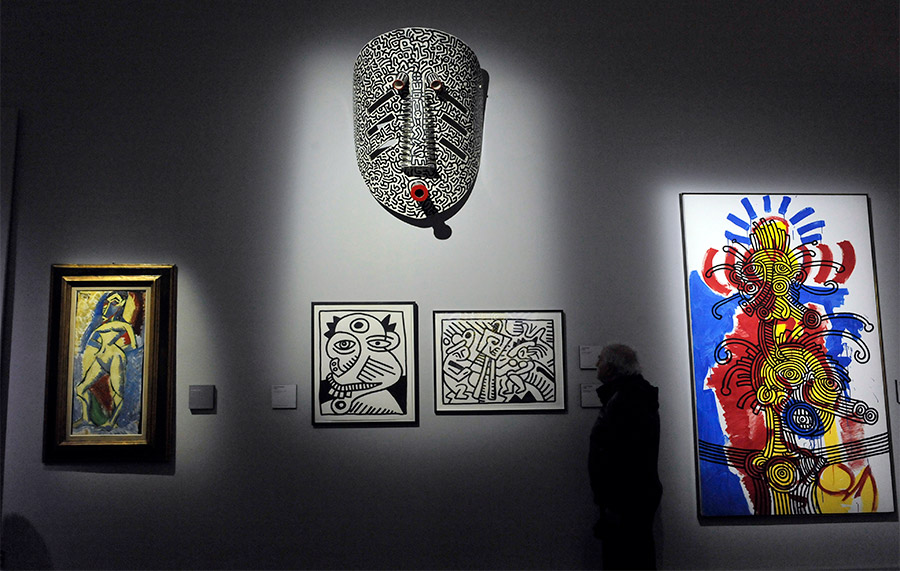 Keith Haring - About Art Exhibition